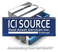 ICISource.ca – Leading Commercial Real Estate Brokerage Services for Buying, Selling and Leasing Commercial Real Estate and Businesses Mobile Logo